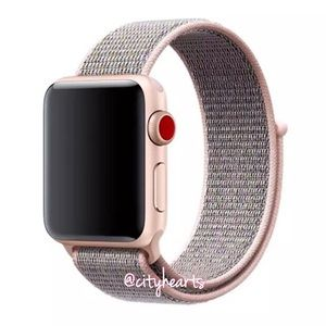 Accessories - NEW Pink Sand Sport Loop BAND For Apple Watch